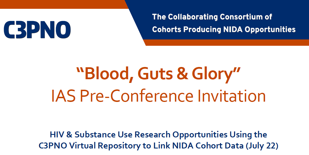 IAS Pre-Conference: Research Opportunities Using the C3PNO Virtual Repository